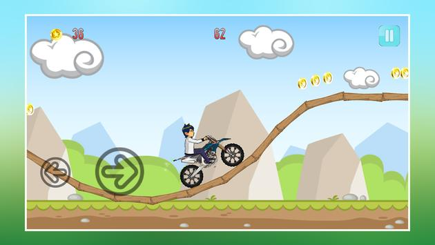 Crazy Jungle Ben Bike Racing screenshot 2