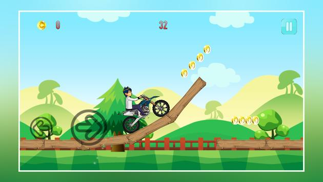 Crazy Jungle Ben Bike Racing screenshot 8