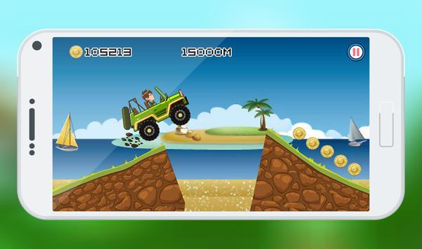 Ben Jungle Hill Race apk screenshot