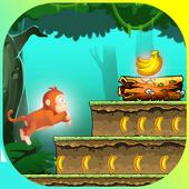 Monkey Jungle Run - Endless Banana Adventure Game icon