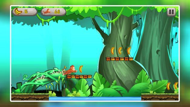Monkey Jungle Run - Endless Banana Adventure Game screenshot 12