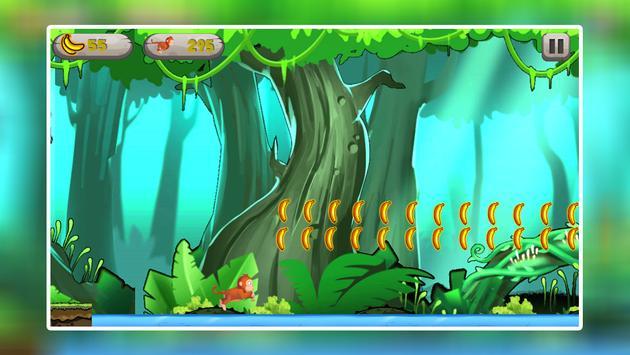 Monkey Jungle Run - Endless Banana Adventure Game screenshot 4