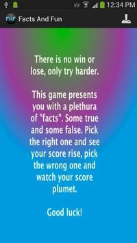 Facts and Fun apk screenshot