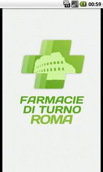 Farmacie di Turno - Roma poster