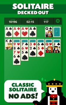 Solitaire: Decked Out Ad Free poster