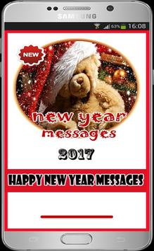 New Year Messages 2017 poster