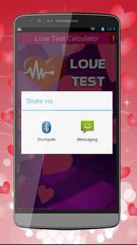 Love Test Calculator Pro apk screenshot