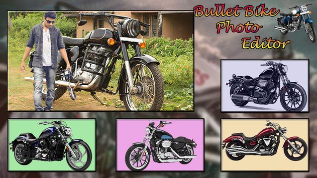 Bullet Bike Photo Editor poster