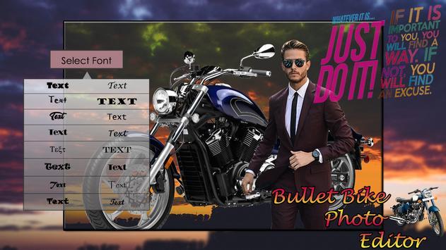 Bullet Bike Photo Editor screenshot 1