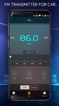 FM radio Transmitter For Car - Car FM Transmitter screenshot 1
