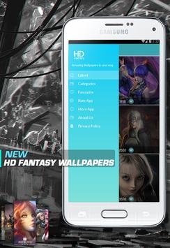 Fantasy hd wallpapers apk screenshot