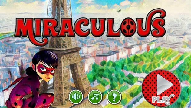 mraculos adventure Ladybg apk screenshot