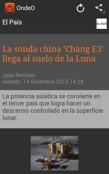 OndeO Noticias en Español apk screenshot