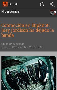 OndeO Noticias en Español screenshot 5