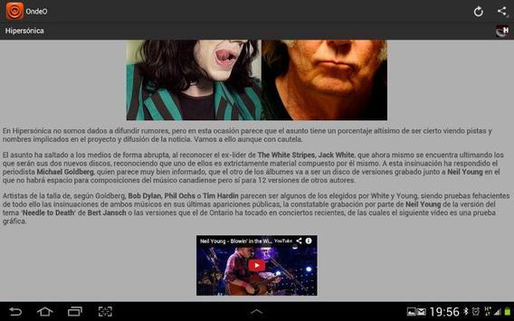 OndeO Noticias en Español screenshot 7