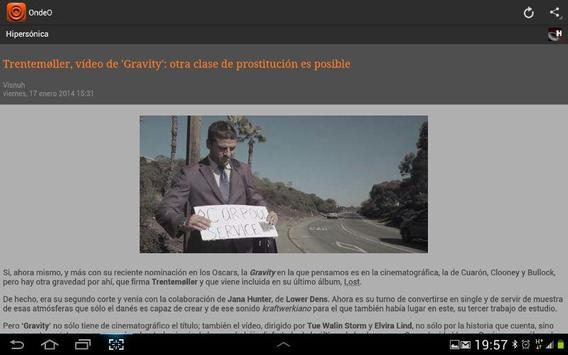 OndeO Noticias en Español screenshot 8