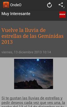 OndeO Noticias en Español screenshot 3