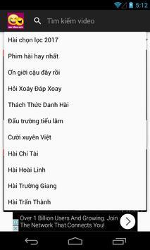 Hài tổng hợp mới nhất 2018 apk screenshot