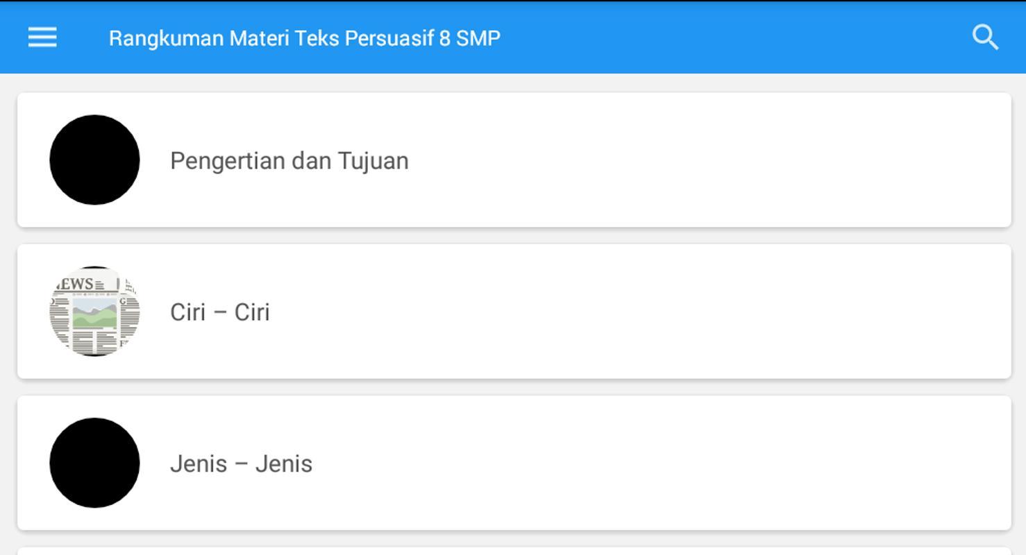 Rangkuman Materi Teks Persuasif Kelas 8 Smp For Android Apk Download