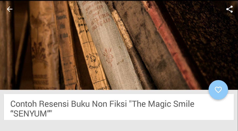 Contoh Resensi Buku Non Fiksi For Android Apk Download