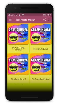 Tips Gratis Kuota Update poster