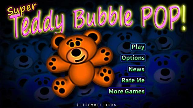 Super Teddy Bubble Pop poster