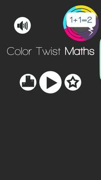Color Twist Math poster