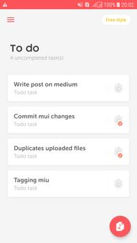 Pomodoro timer Productivity & To do list for gtd screenshot 4