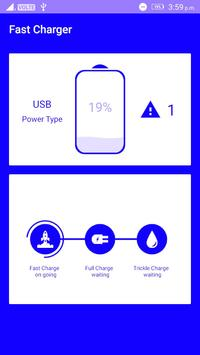 fast battery charger poster