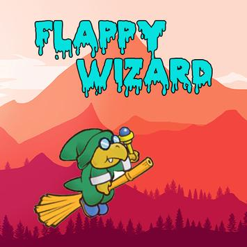 Flappy Wizard poster