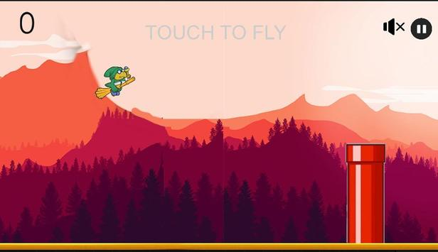 Flappy Wizard screenshot 1