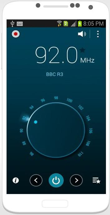 free fm tuner app for android