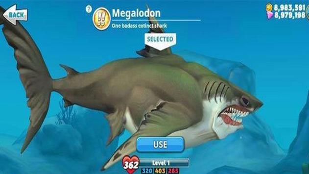 Cheat Hungry Shark World poster
