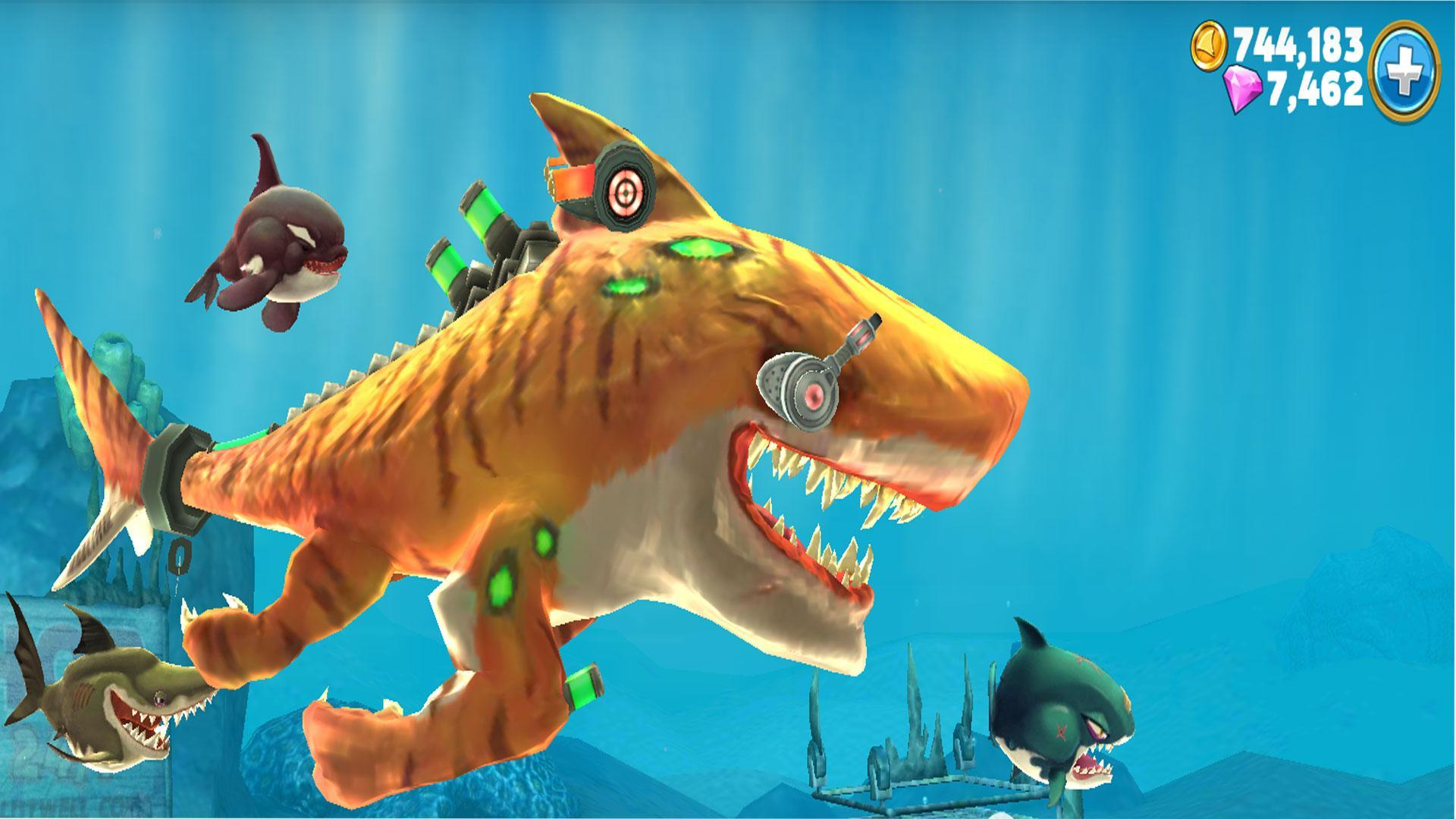 Cheat Hungry Shark World for Android - APK Download