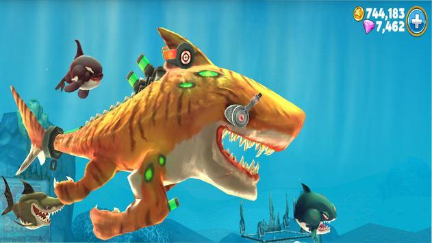 Cheat Hungry Shark World screenshot 2
