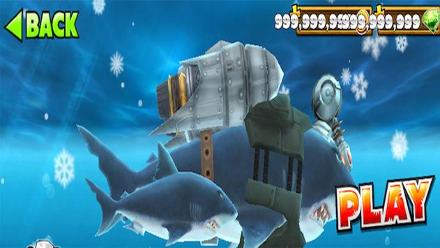 Cheat Hungry Shark Evolution screenshot 1