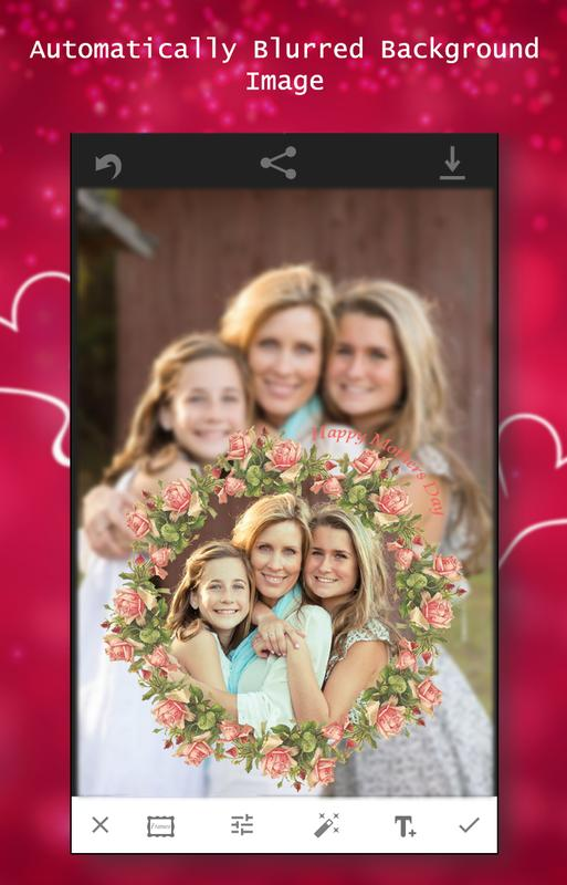 I Love You Mom Photo Frame For Android Apk Download