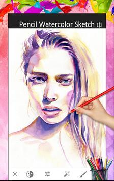Pencil sketch - watercolor apk screenshot