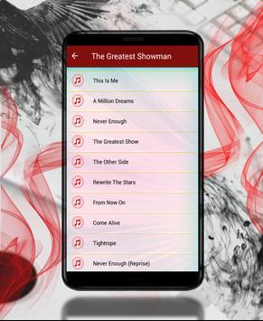 The Greatest Showman soundtrack screenshot 1