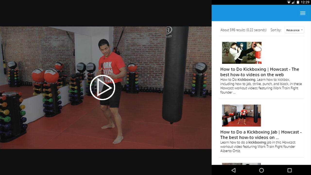 Kickboxing Free Training for Android - APK Download