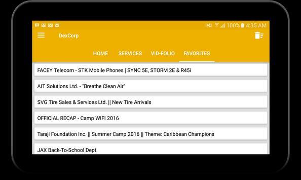 DexCorp screenshot 6