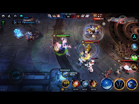 Iron League - Real-time Arena Teamfight apk screenshot