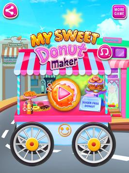 My Sweet Donuts Maker - Food maker donuts recipe poster