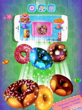 Unicorn Donuts Maker - Rainbow Donuts screenshot 1