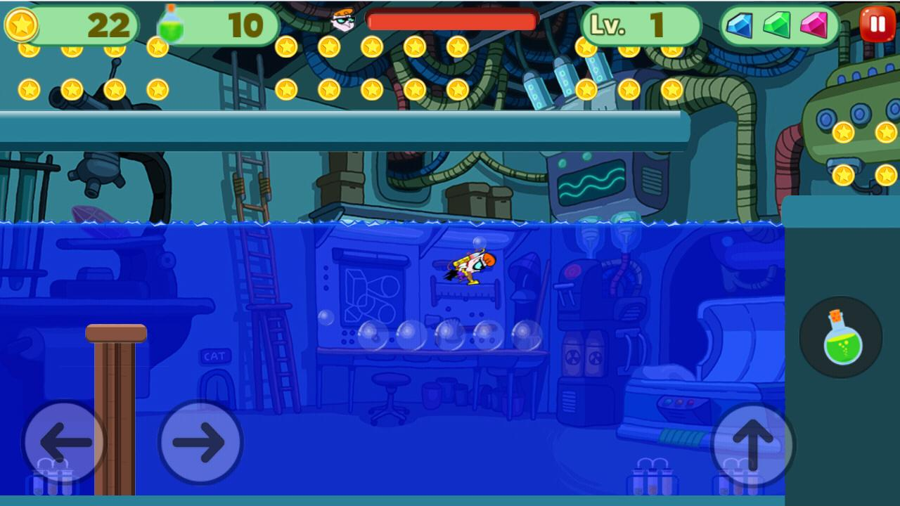 Dexter Super LAboratory : Adventure Game for Android - APK Download