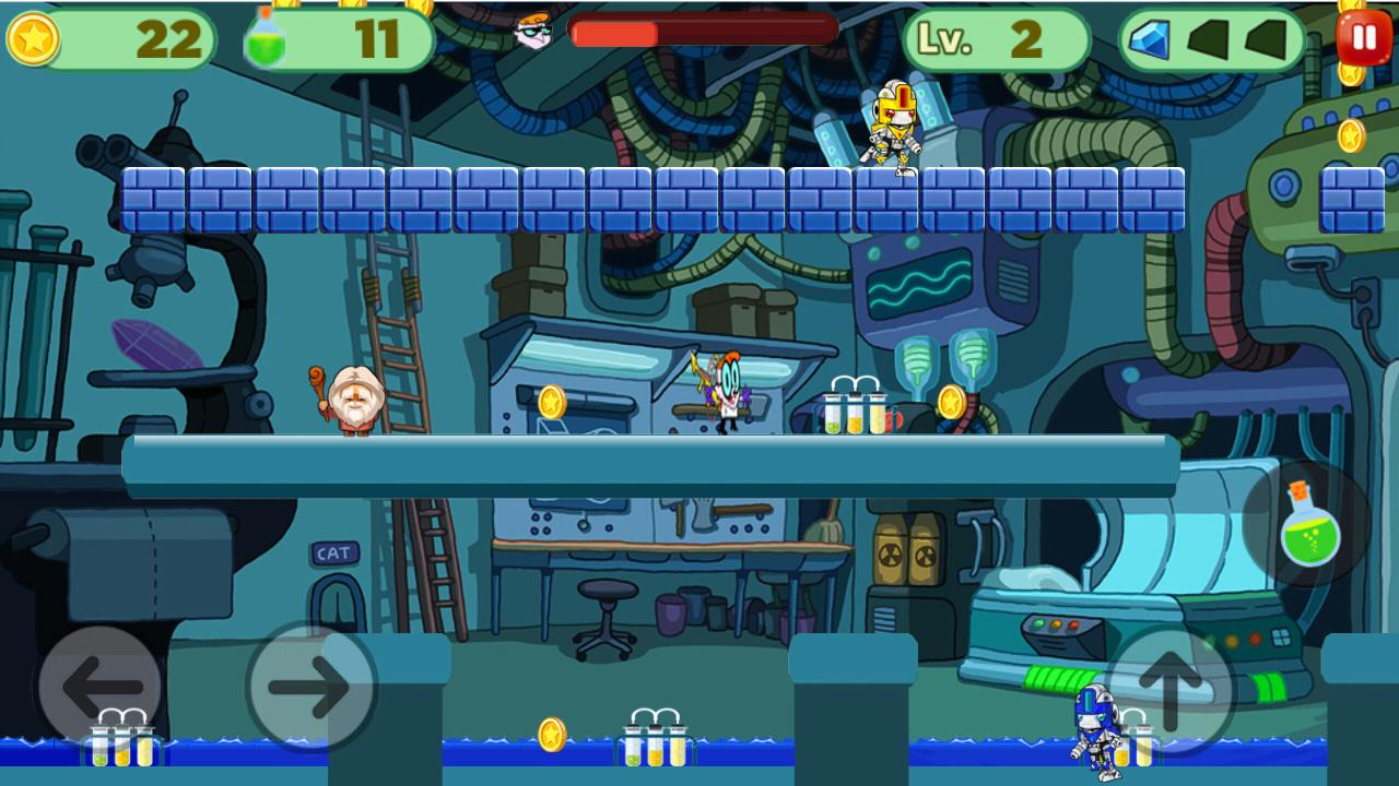 Dexter Super Laboratory Adventure Game For Android Apk Download
