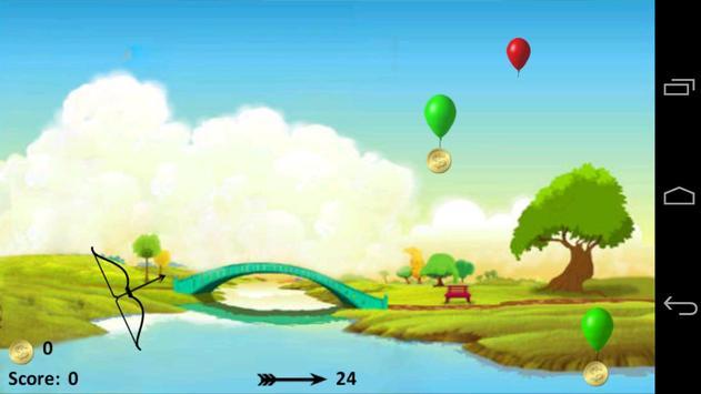 Balloon Bow & Arrow screenshot 3