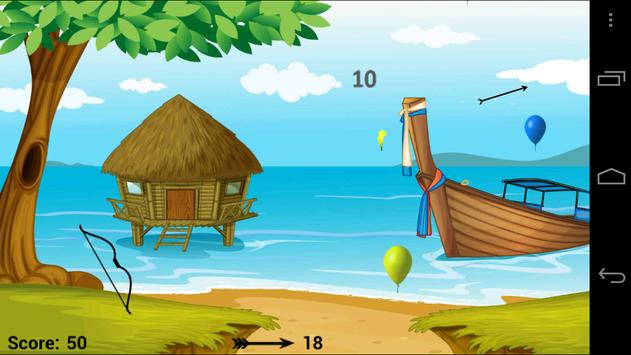 Balloon Bow & Arrow screenshot 10