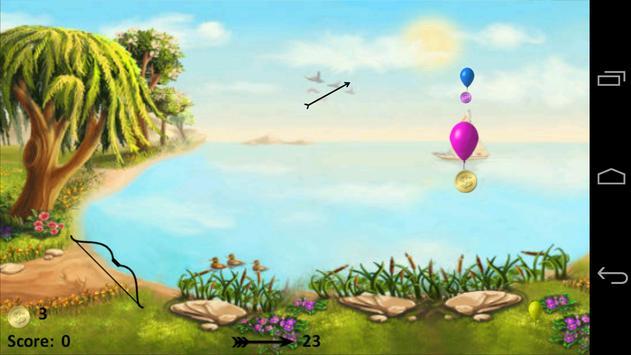 Balloon Bow & Arrow screenshot 15