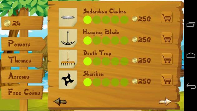 Balloon Bow & Arrow screenshot 1